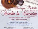 programma del concerto in Arpino
