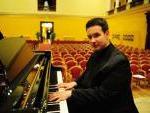 il pianista Marco Grilli in Budapest