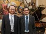 il pianista Roberto Prosseda ed il compositore Francesco Marino