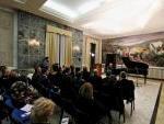 il Salone di rappresentanza della Prefettura di Frosinone