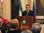 il M° Francesco Marino espone le peculiarità dell'evento