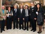 le autorità presenti presso il Salone di Rappresentanza della Prefettura di Frosinone